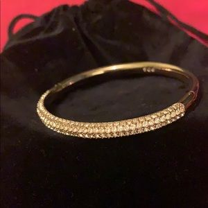Rose Gold Swarovski Crystal Bangle